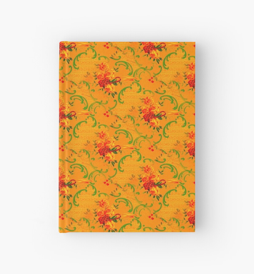 Saturated Flower Pattern nº3 by Ikigai-PLUS