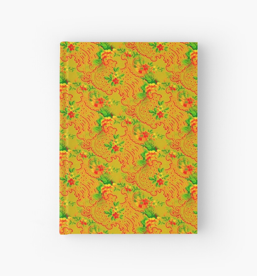 Saturated Flower Pattern nº4 by Ikigai-PLUS