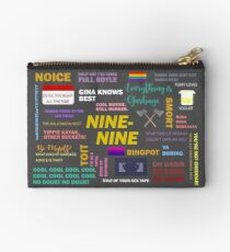 B99 Quotes Zipper Pouch