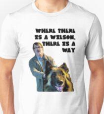 Jim and Wilson love Unisex T-Shirt