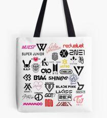 kpop groups Tote Bag