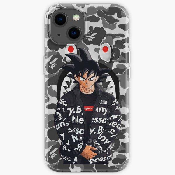 bape whit goku iPhone Soft Case