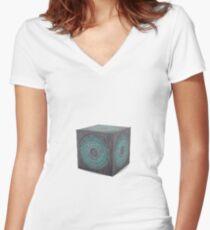 3d model of pandorica Women's Fitted V-Neck T-Shirt