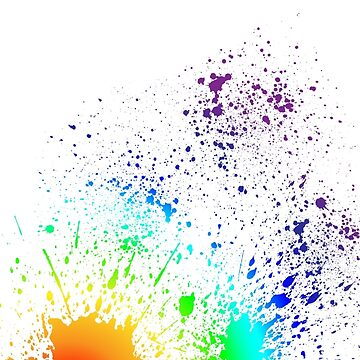 Rainbow Splatter by EthanDecker