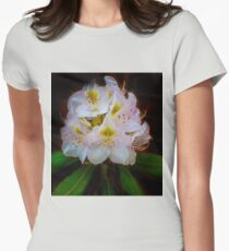 Gossamer Rhododendrum Womens Fitted T-Shirt