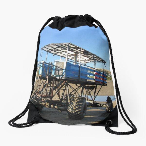 The Sea Tractor Drawstring Bag