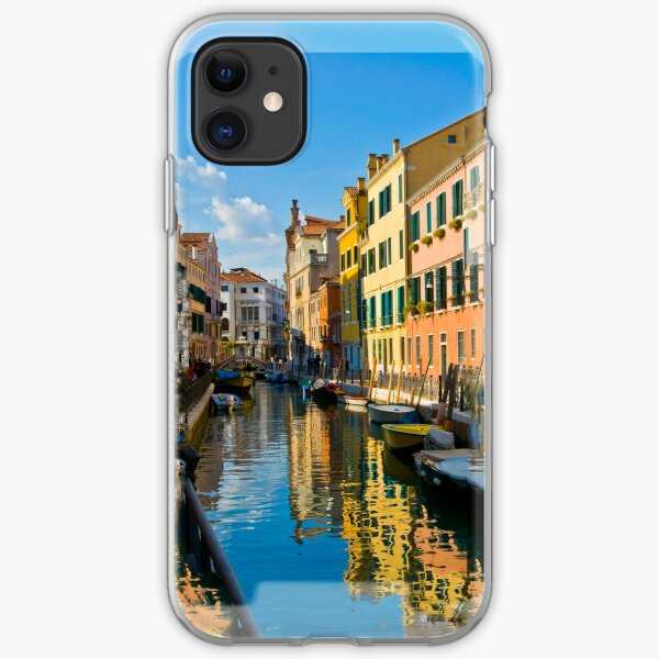 Reflections of Venice II  [Phone Case] iPhone Soft Case