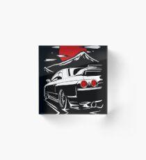 Bloque acrílico Nissan Skyline GTR 32 | Haruna