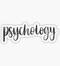 Psychology - Folder/Binder Sticker Sticker