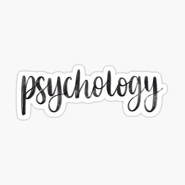 Psychology - Folder/Binder Sticker Sticker