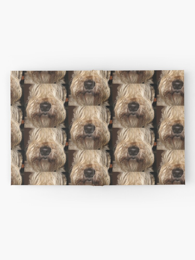 Alternate view of soft coated wheaten terrier Hardcover Journal