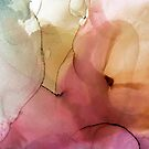 Summer Nectar, Pastel Abstract Painting by PrintsProject