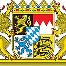 Bayern (Bavaria) Coat of Arms  by edsimoneit