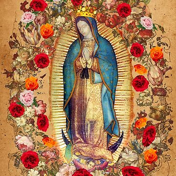 Our Lady of Guadalupe Virgin Mary Catholic Mexico Poster by hispanicworld