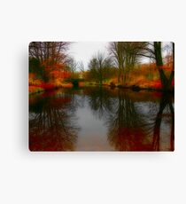 Tiergarten Pond Canvas Print