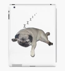 Sleeping Pug iPad Case/Skin
