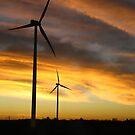 Sunrise Windfarm by Jason Bran-Cinaed