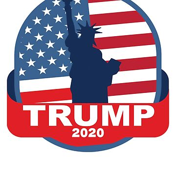 Vote Donald Trump 2020 Re-elect the President by merchhost
