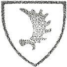Elchschaufel symbol of Ostpreussen (East Prussia) by edsimoneit