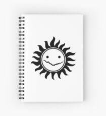 Superwholock Spiral Notebook