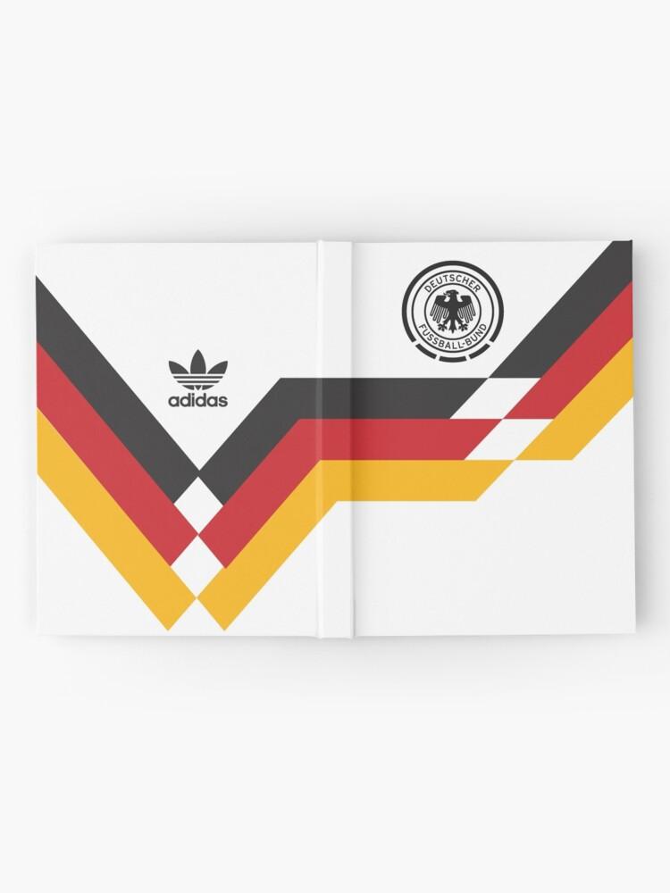 Alternative Ansicht von Deutschland Retro Notizbuch
