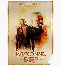 Wynonna Earp - Western Style Cast Poster #17 - Xavier Dolls Poster