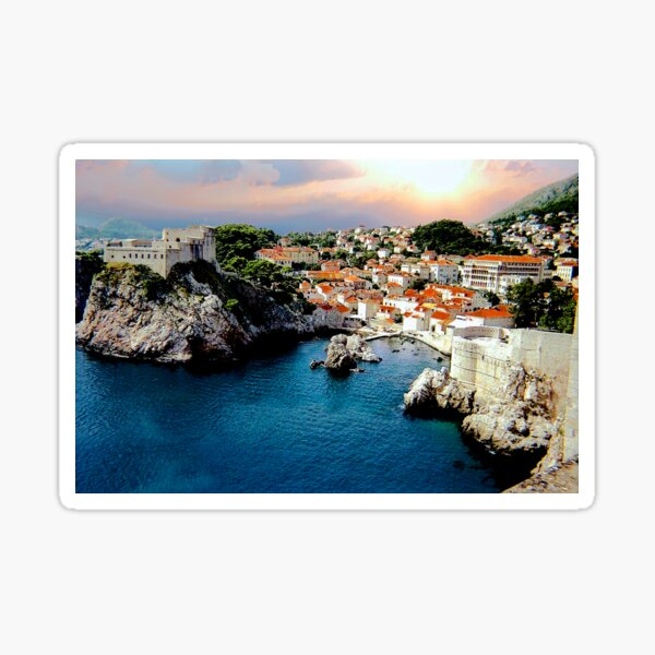 From Dubrovnik's wall Sticker