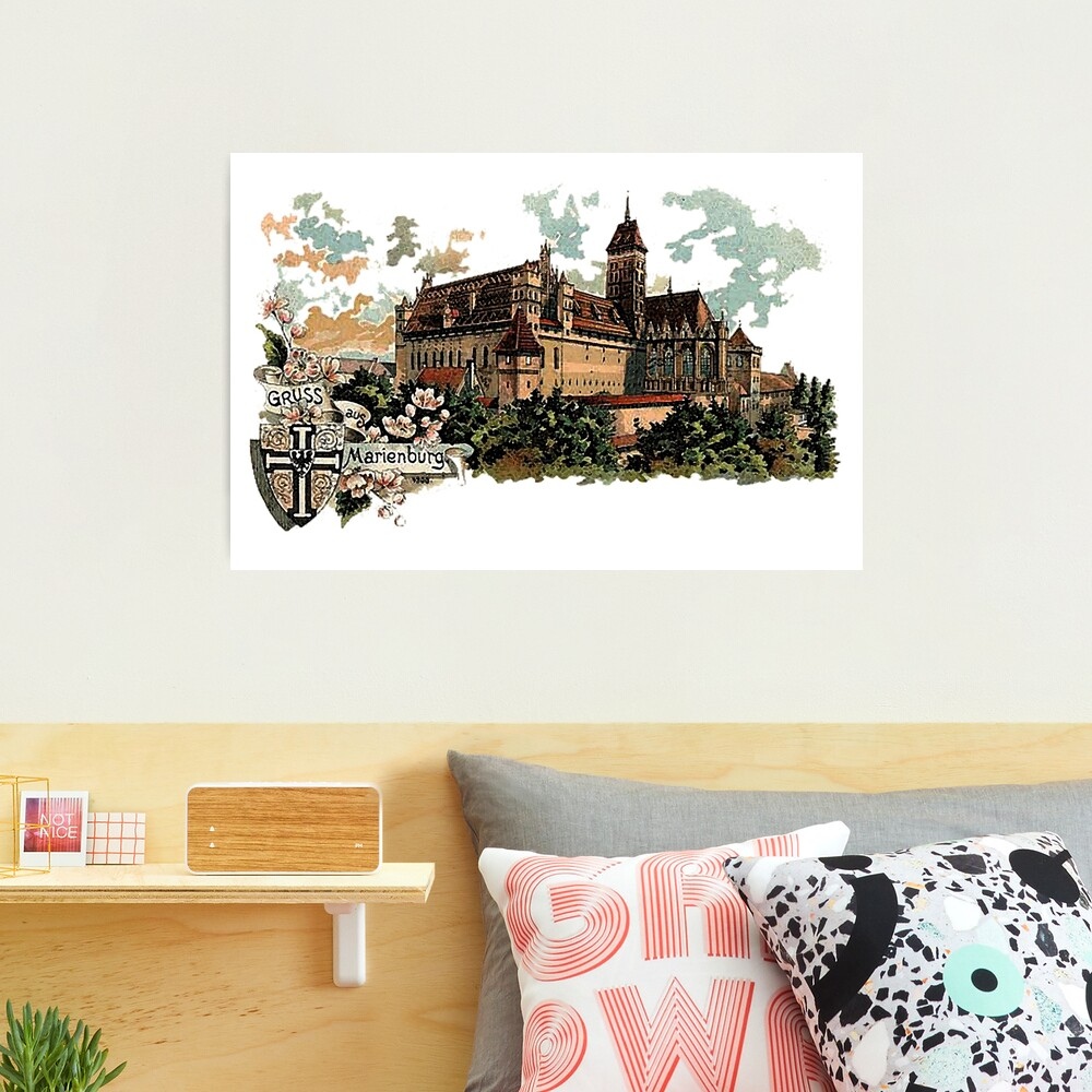 Marienburg Castle, Teutonic Knights Headquarters Photographic Print