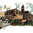 Marienburg Castle, Teutonic Knights Headquarters by edsimoneit