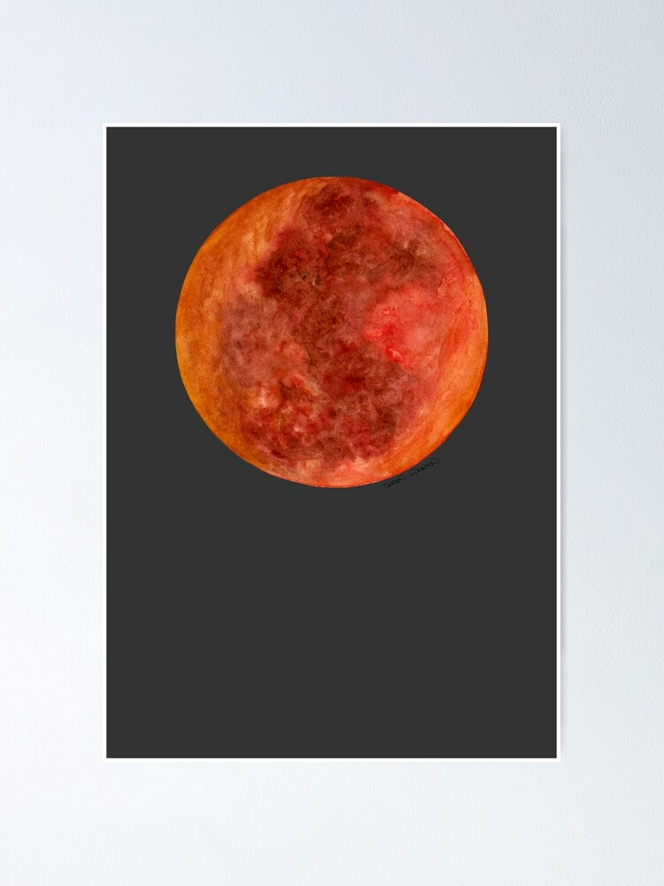 Blood Moon Eclipse Poster By Serensketches Redbubble Blood moon craft is a mystic texture pack for 1.5 and 1.5.1 it is now 40 done. blood moon eclipse poster by serensketches redbubble