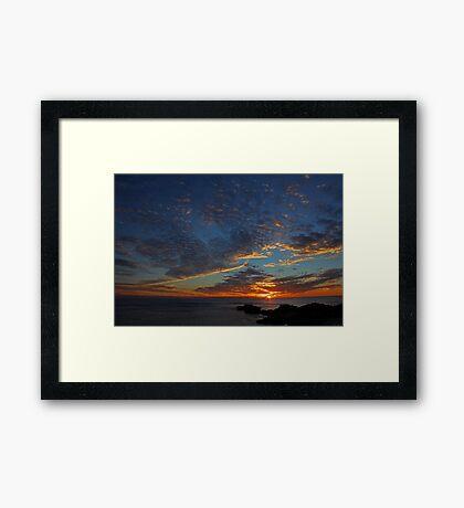 Point Peron - Western Australia  Framed Print