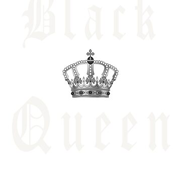 Black Queen Shirt and Accessories Gift by teesogram