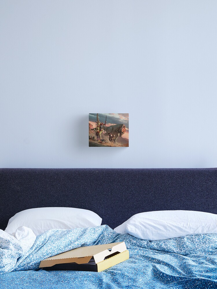 Ark Survival Evolved T Rex Design Canvas Print By Aboutabove Redbubble