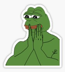pepe da frog Sticker