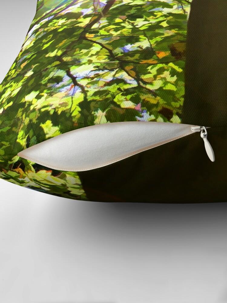 Alternate view of Tree of Light Throw Pillow