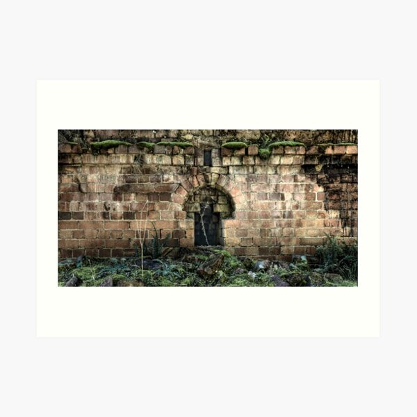 Niche To Nowhere - Newnes - Wollemi National Park, NSW Art Print