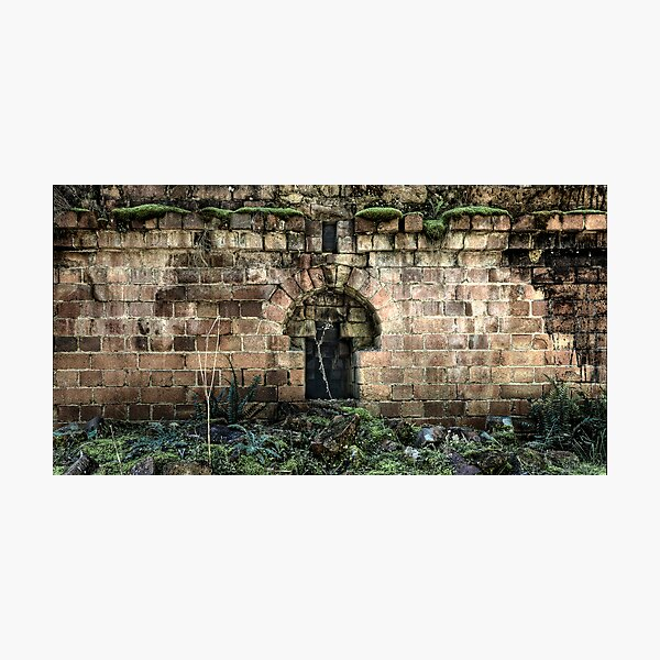 Niche To Nowhere - Newnes - Wollemi National Park, NSW Photographic Print