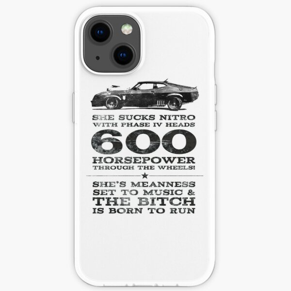 Mad Max Pursuit Special aka The Interceptor iPhone Soft Case