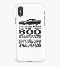 Mad Max Pursuit Special aka The Interceptor iPhone Case