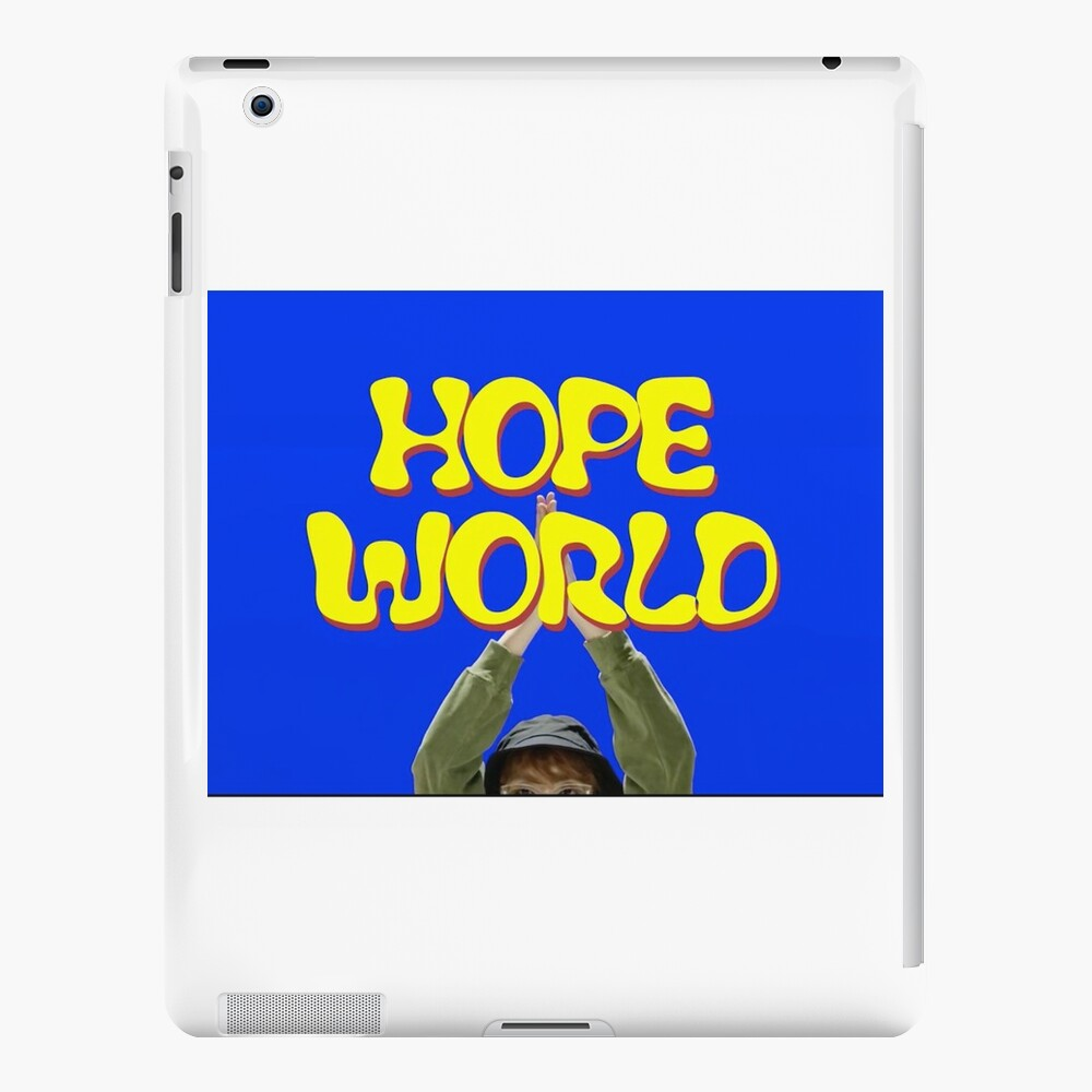 Hoffnung Welt jhope iPad-Hüllen & Klebefolien