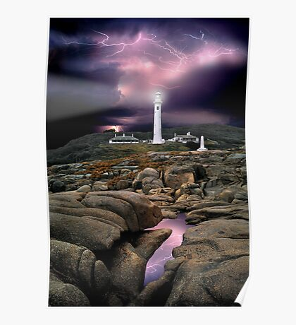 Point Hicks Lighthouse Poster