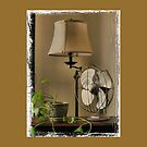 GRANNY'S FANCY ELECTRIC FAN, Photo, for prints and products by Bob Hall©