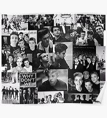 full black and white Poster