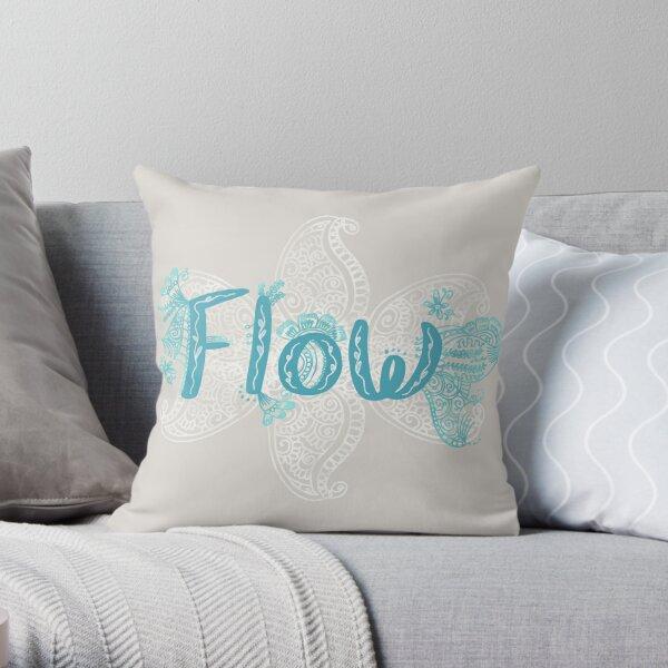 Flow inspiration Throw Pillow