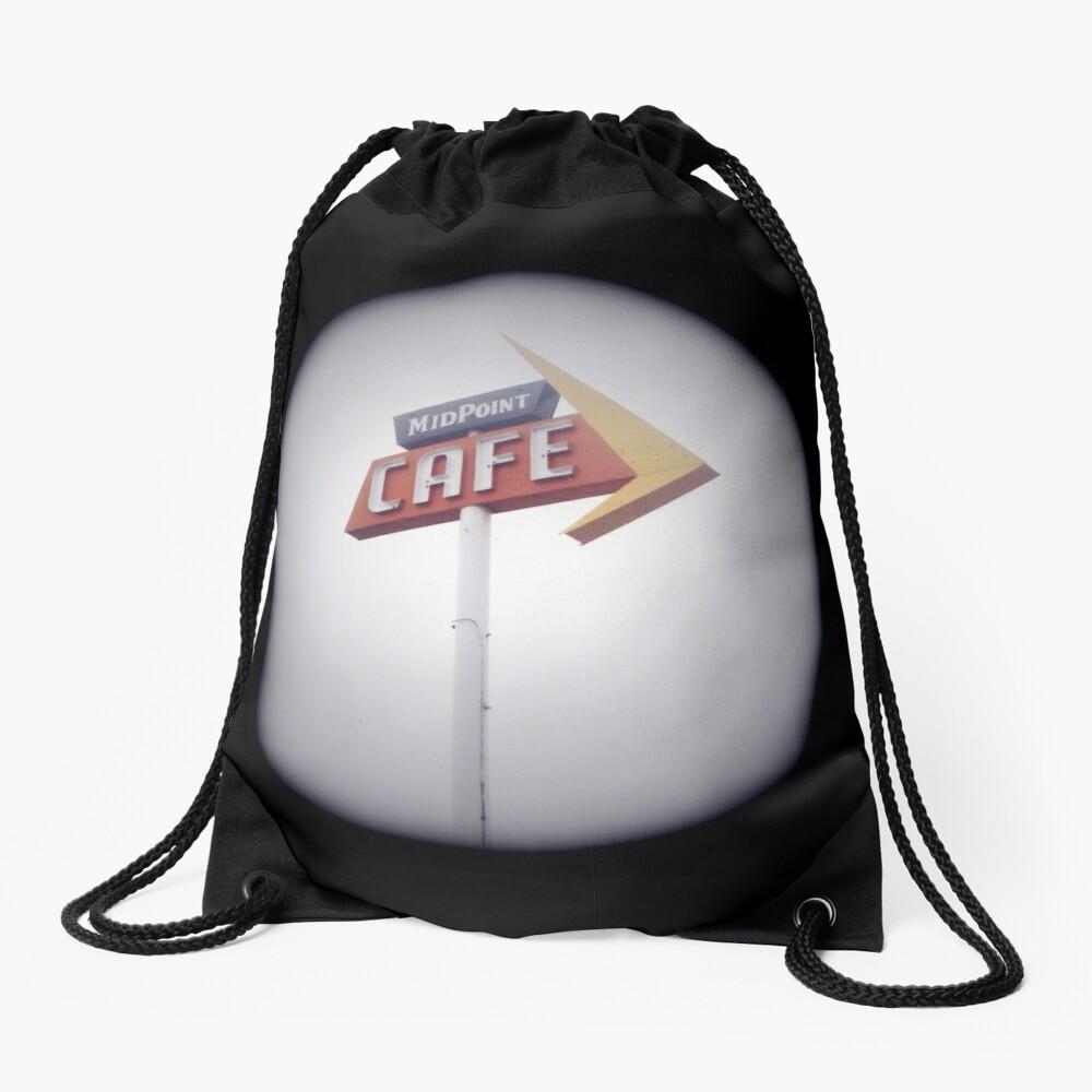 Route 66 Drawstring Bag