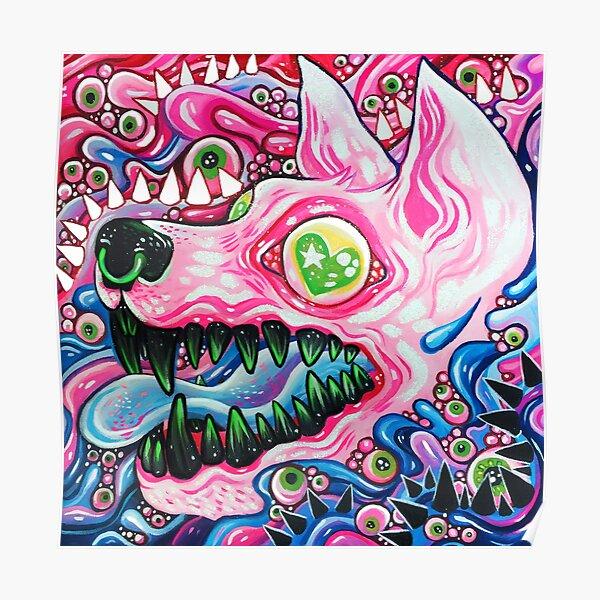 Mini Glitterwolf Poster