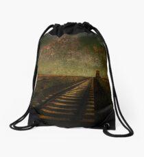 A Long Way Home Drawstring Bag