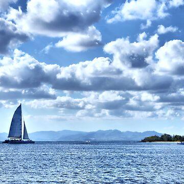 Blue sea by bonardelle