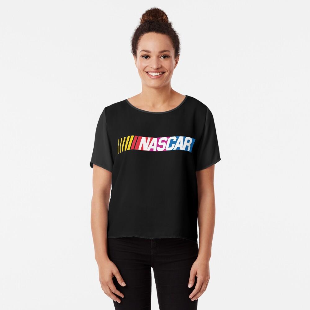 Nascar-Logo Chiffon Top