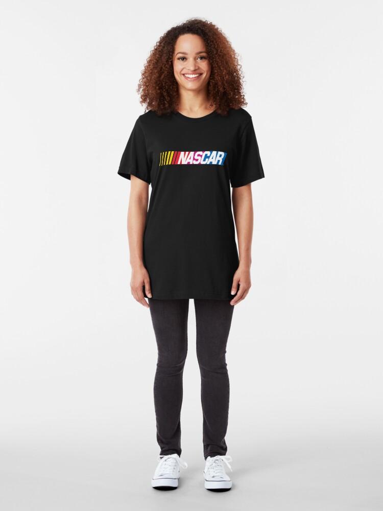 Alternative Ansicht von Nascar-Logo Slim Fit T-Shirt